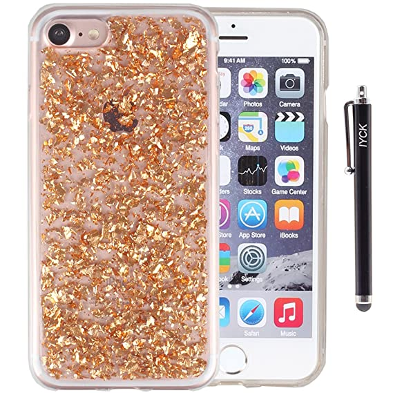 8 case iphone glitter
