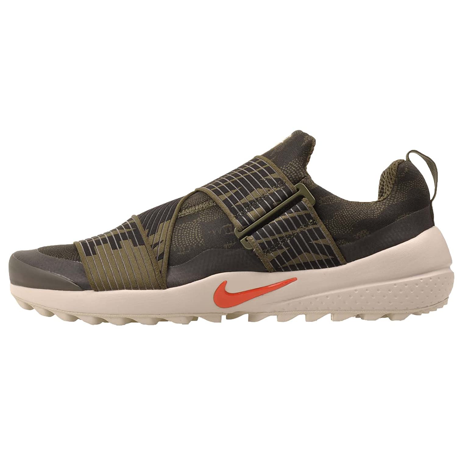 f404dd83c5c43 Nike Air Zoom Gimme Spikeless Golf Shoes 2017 Cargo Khaki Black Light Bone  Max Orange Medium 8. 5  Buy Online at Low Prices in India - Amazon.in