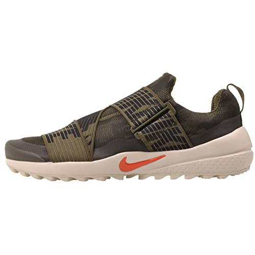 6bdfc40ec047 Nike Air Zoom Gimme Spikeless Golf Shoes 2017 Cargo Khaki Black Light Bone  Max Orange Medium 8. 5  Buy Online at Low Prices in India - Amazon.in