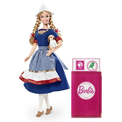 Barbie Collector Dolls of The World Holland Doll: Toys & Games