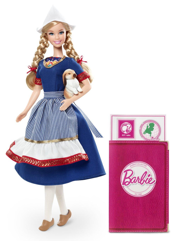 Barbie Muñecas del mundo: Holanda Mattel W
