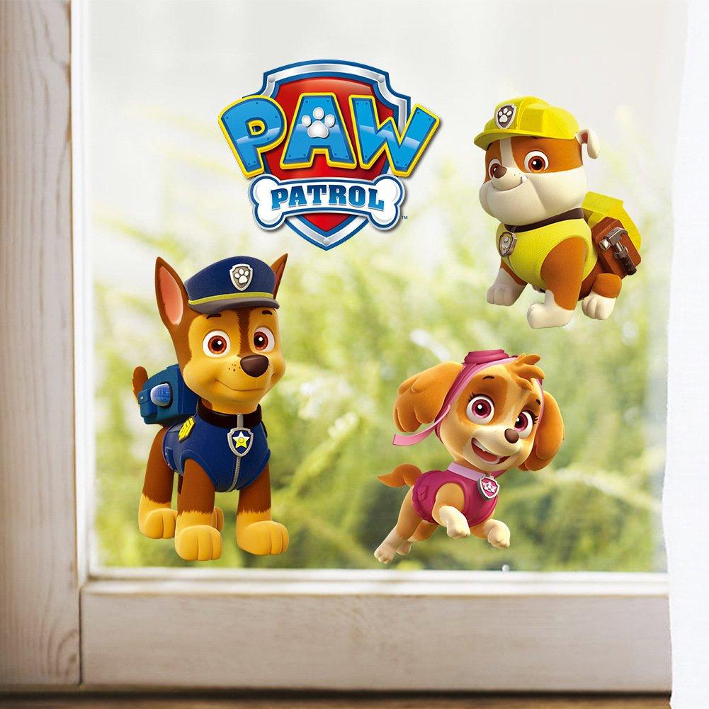 Kibi Paw Patrol Wandtattoo Schlafzimmer Jungen Madchen Grosse Kinder Paw Patrol Wandtattoo Fur Kinderzimmer Paw Patrol Wandaufkleber Wandsticker Paw Patrol Madchen