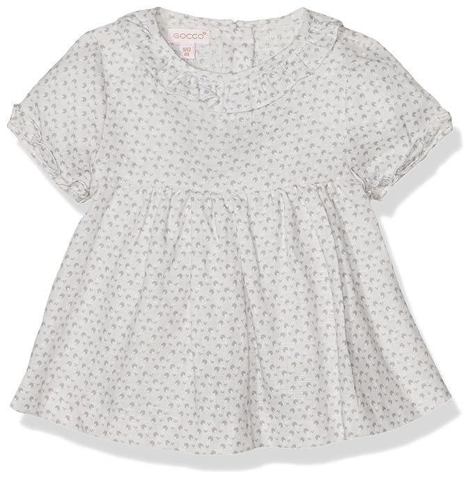 Gocco S77CBCCP302, Blusa para Bebés, Gris (Gris Claro), 3-6