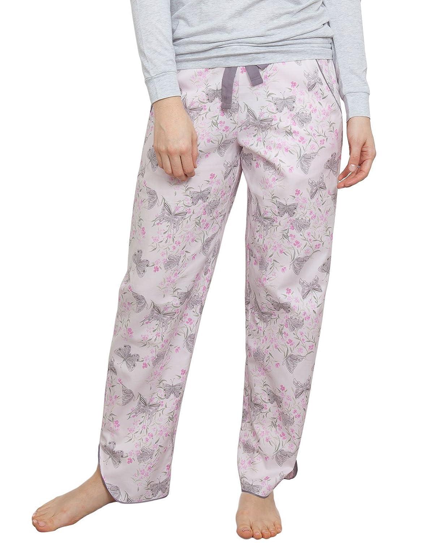 Cyberjammies 3768 Women's Sienna Pink Floral Pajama Pyjama Pant