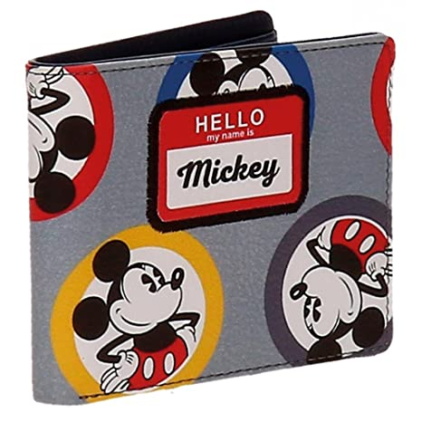 Disney Mickey Mouse Circles Billetera Monedero Bolsillo ...