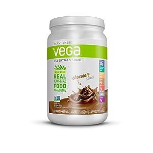 Vega Essentials Shake Chocolate Servings