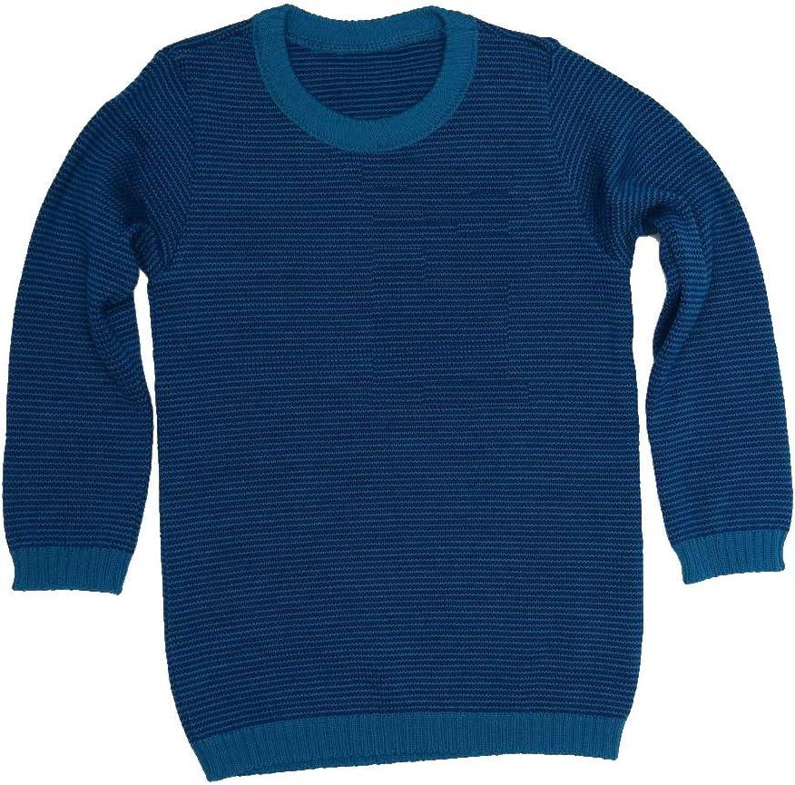 Disana Basic di Maglione/ /Lana Maglione Blau//Marine Melange 110//116 cm