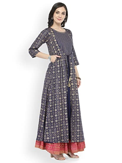 Indian Kurta Kurti Curidar Ethnic Party Wear Women Dress