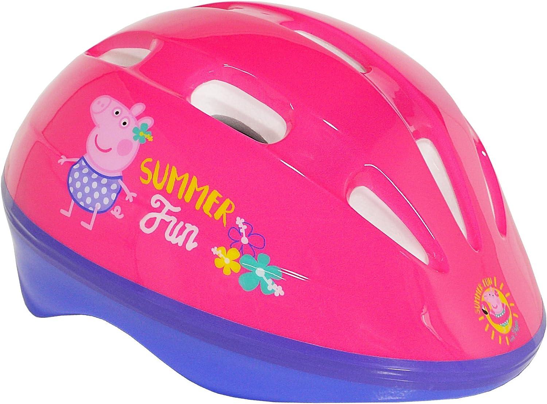 Peppa Pig Protective Kids Cycling Helmet White 48-54cm