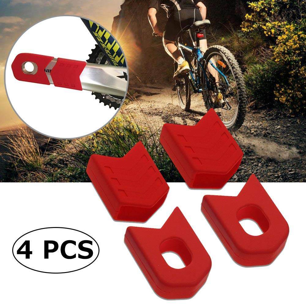 Outdoors Mountain Bike Road Cycling Crankset Protective Crank Arm Boots Cover N7