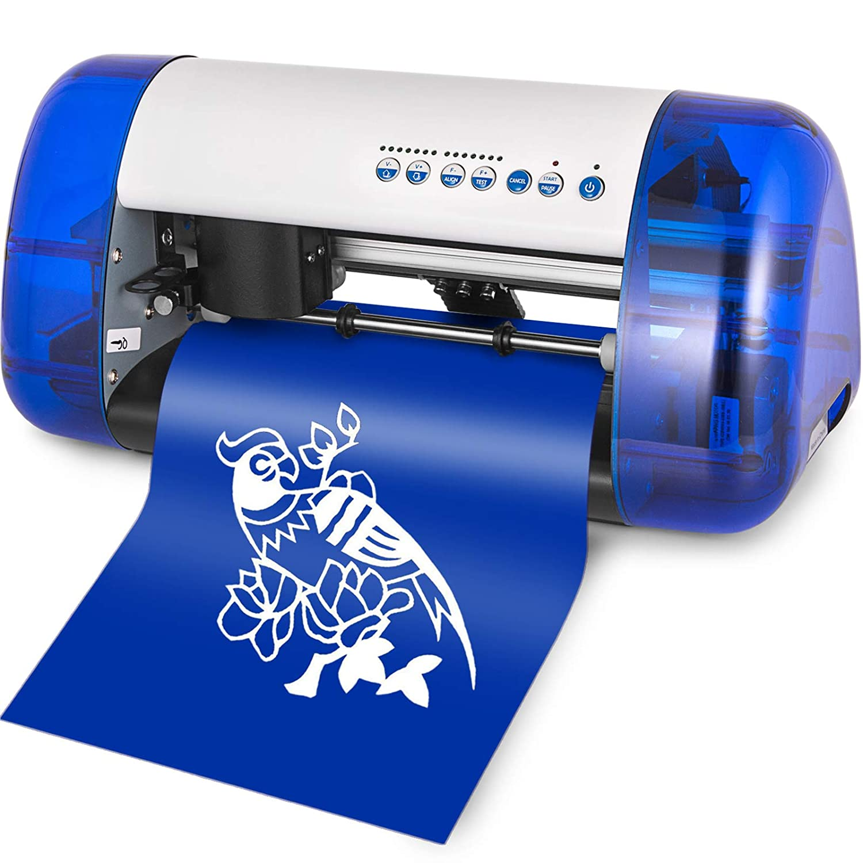 Amazon com vevor vinyl cutter a4 mini plotter machine desktop sign making machine for sign stickers electronics
