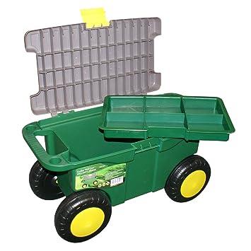 Portable Garden Tool Box With Wheels 50 Cm