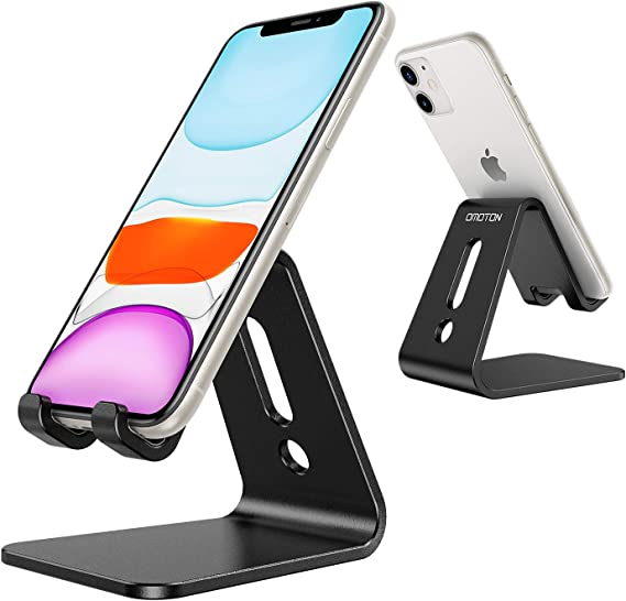 OMOTON Desktop Cell Phone Stand [Updated Solid Version]
