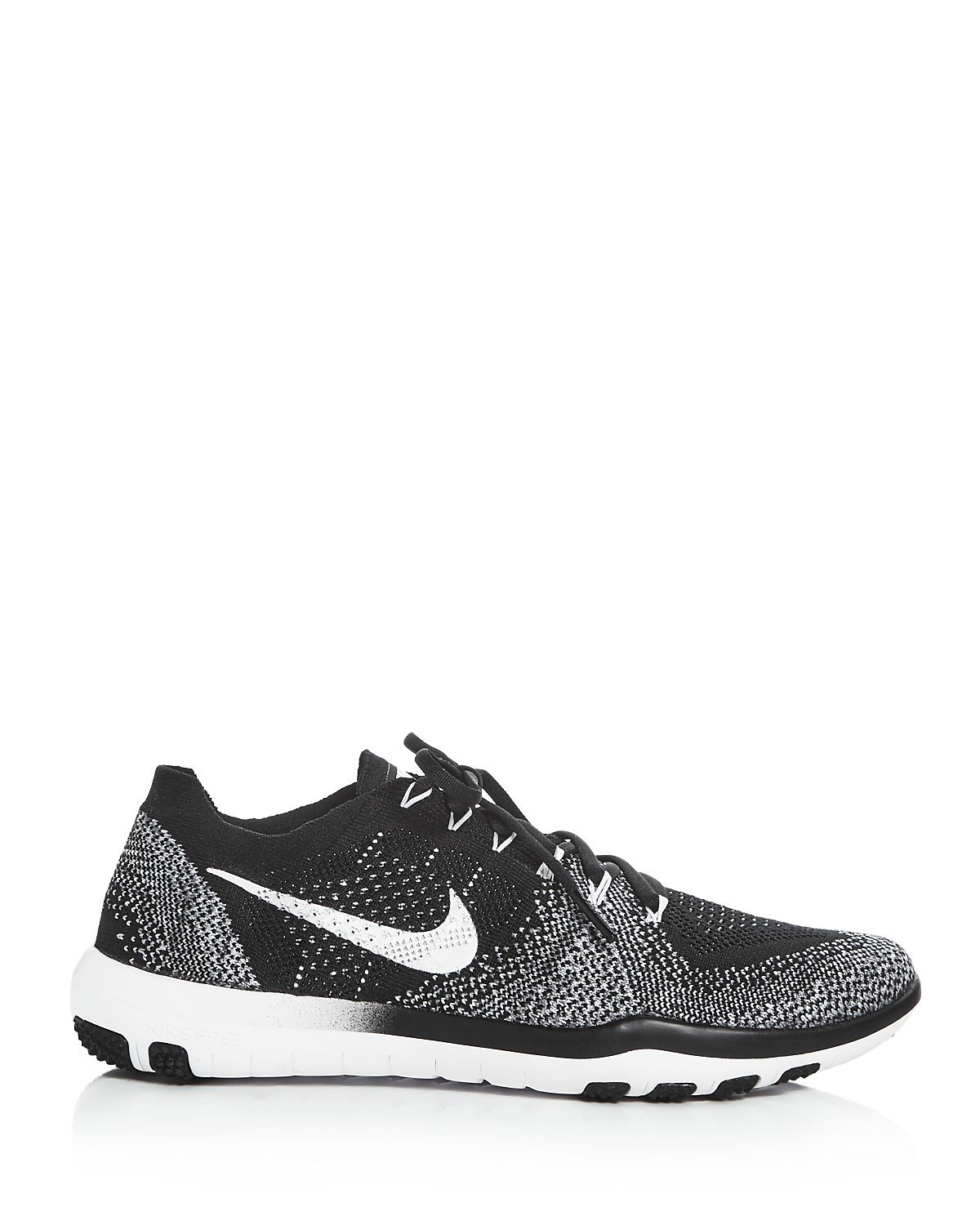 f7e493f9daea41 Galleon - NIKE Free Focus Flyknit 2 Size 10 Womens Cross Training Shoe White  Black-Wolf Grey Shoes