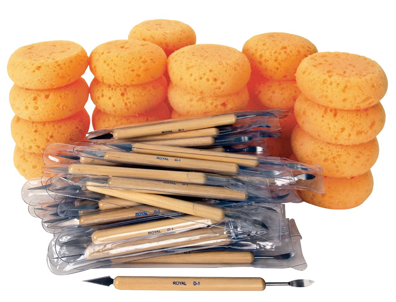Royal Brush Cleaning Tool Value Pack, Set of 72