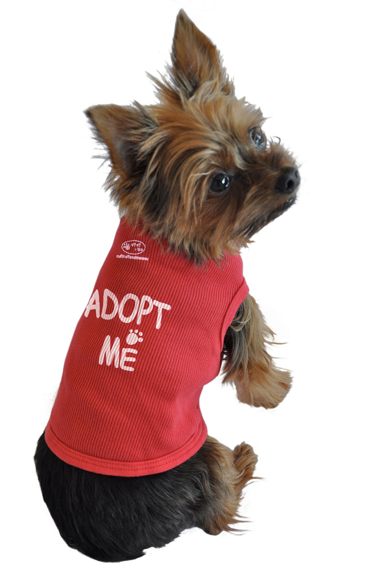 Ruff Ruff and Meow Dog Tank Top, Adopt Me, Red, Extra-Small