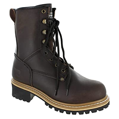 Rugged Blue Pioneer II Logger Boot | Industrial & Construction Boots