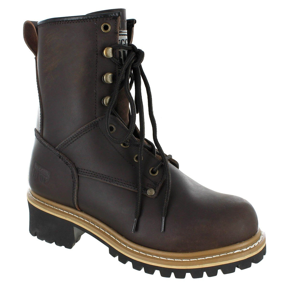 Rugged Blue Pioneer II Logger Boot (12W) Brown by Rugged Blue (Image #1)