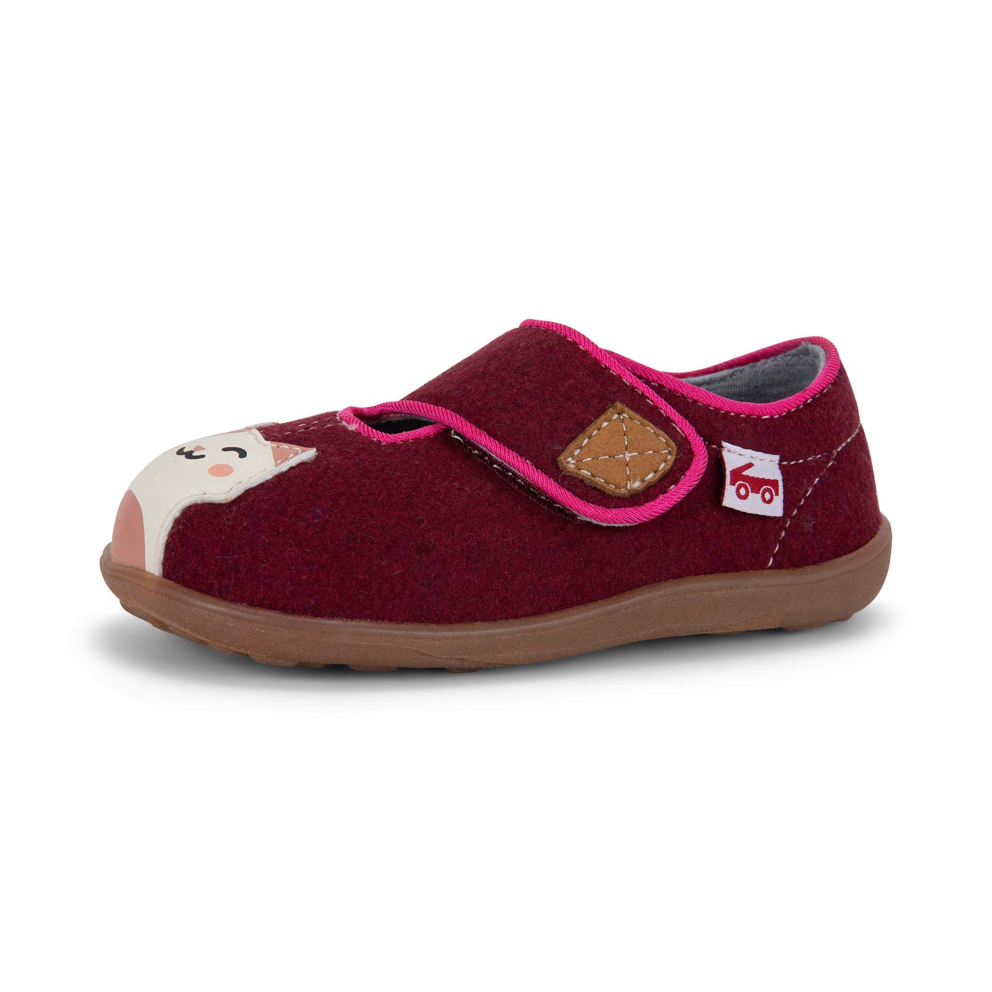 See Kai Run - Cruz II Slippers for Kids, Berry Kitty, 7 by See Kai Run