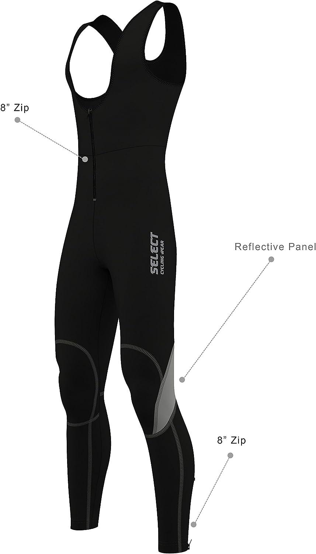 Select Mens Cycling Bib Tights SoftShell Thermal Bib Pant Super Roubaix BibTights