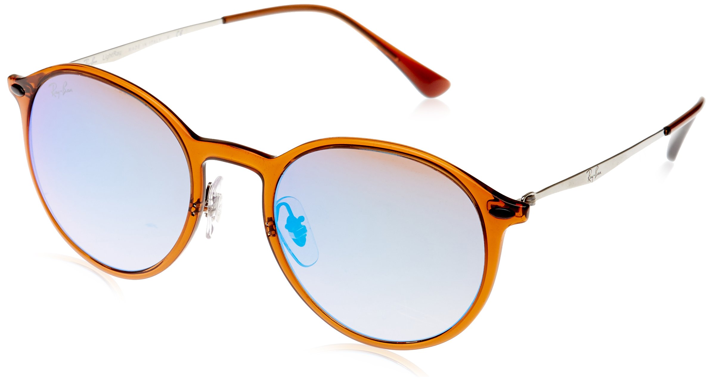 Ray-Ban RB4224 Sunglasses Brown / Gradient Brown Mirror Blue 49mm by Ray-Ban