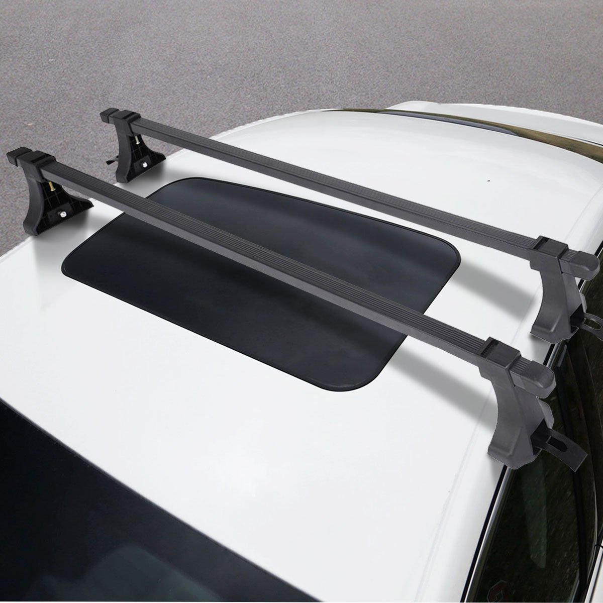 Amazon.com: 48u201d Universal Car Top Roof Cross Bars Crossbars Luggage Cargo  Rack Window Frame: Home U0026 Kitchen