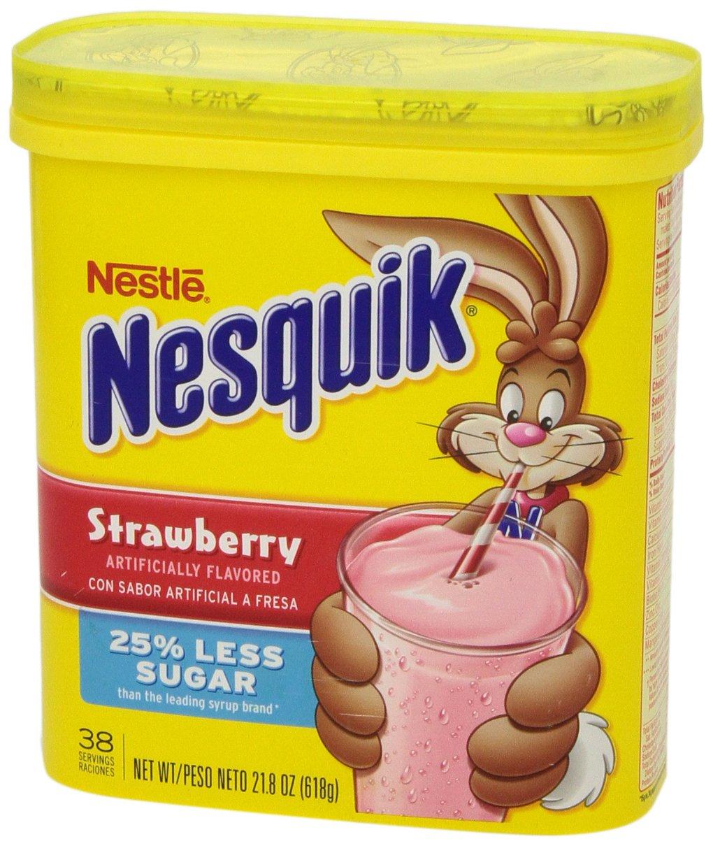 Nesquick - Polvo aromatizado - fresa - 16 onzas: Amazon.es ...