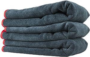 """Chemical Guys MIC50903 Premium Red-Line Microfiber Towel (16"""" x 24"""")"""