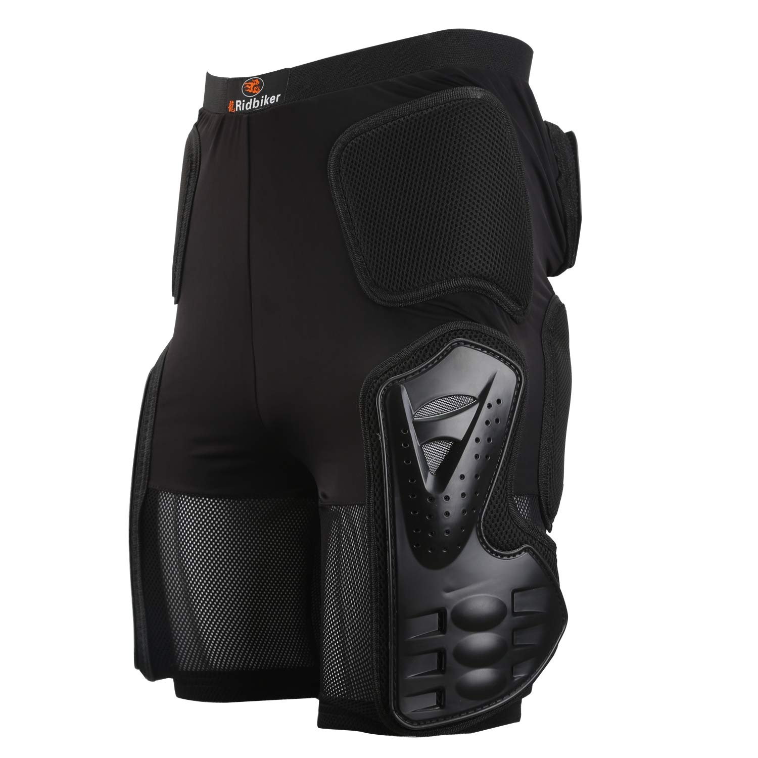 Riding Armor Pants Skating Protective Armour Skiing Snowboards Mountain Bike Cycling Cycle Shorts (M (32'' to 35'' Waist)) Black by RIDBIKER