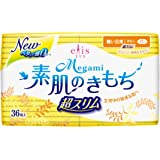 エリス(elis) Megami(メガミ) 素肌のきもち 超スリム (軽い日用) 羽なし 17cm 36枚