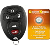KeylessOption Keyless Entry Remote Control Car Key Fob Replacement 15912860 KPT2753