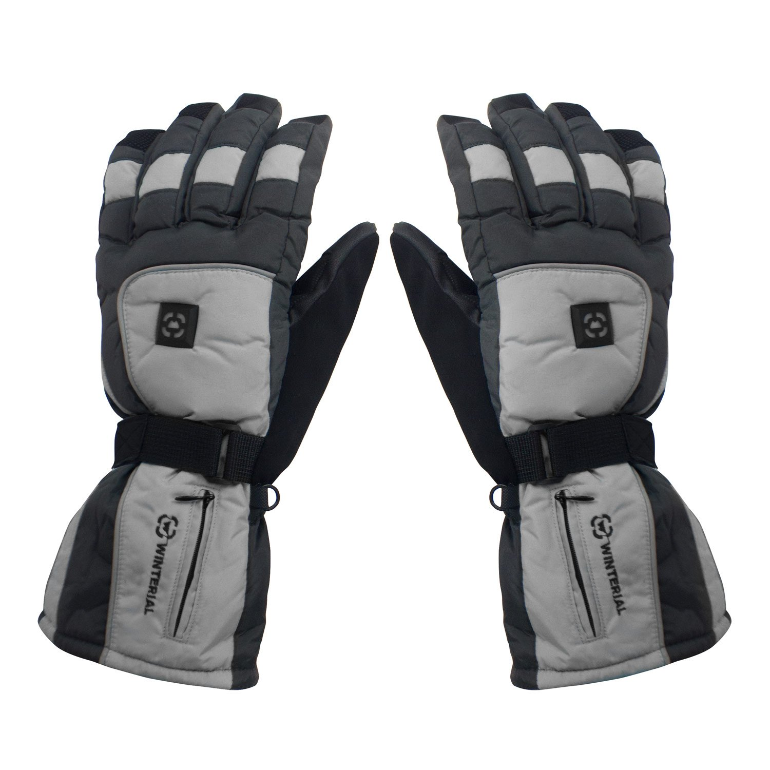 ororo Heated Gloves with Rechargeable Li-ion Battery for Men and Women 3-in-1 Warm Gloves for Hiking Skiing Motorcycle