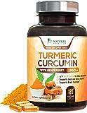 Turmeric Curcumin Highest Potency 95% Standardized Curcuminoids 1950mg with Bioperine for Best Absorption, Made in USA…