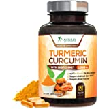 Turmeric Curcumin with BioPerine 95% Curcuminoids 1950mg with Black Pepper for Best Absorption, Made in USA, Natural Immune S
