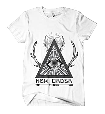 d5852ad20f New Order T-Shirt | Printed Streetwear Tee | Hipster Design Top | Urban  Fashion Clothing | Mens Womens Short Sleeve: Amazon.co.uk: Clothing