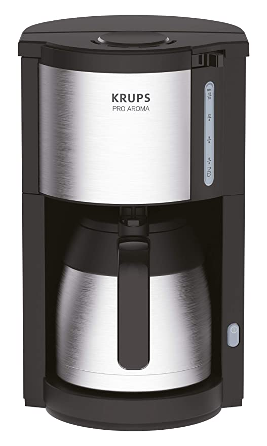 Krups KM305D10 ProAroma térmica de filtro cafetera, color negro ...