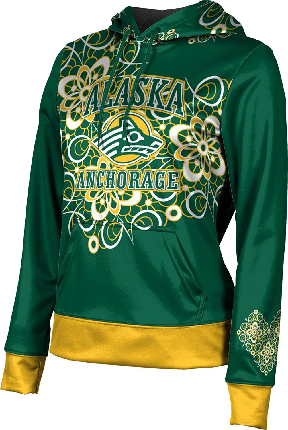 ProSphere University of Alaska Anchorage Girls' Pullover Hoodie - Foxy