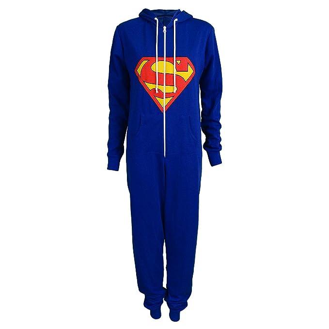NEW para hombre traje de neopreno para mujer BATMAN con capucha pijama con cremallera SUPERMAN incluye