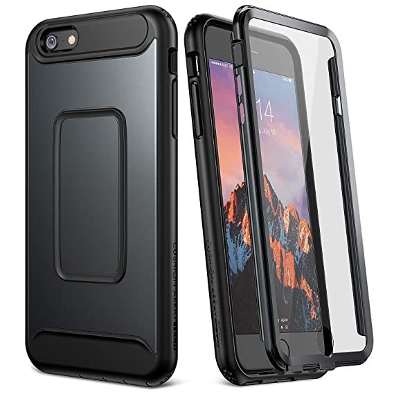 the best attitude 2ed4c a5ca0 YOUMAKER Case for iPhone 6S, Full Body with Built-in Screen Protector Heavy  Duty Protection Shockproof Case Cover for Apple iPhone 6S (2015) / 6 ...