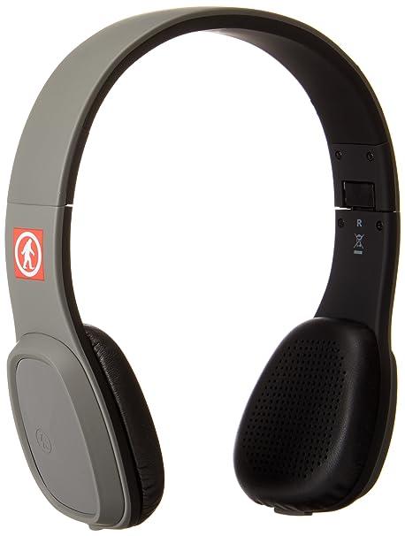 Outdoor Tech Los Cabos - Auriculares de diadema cerrados, con Bluetooth, color gris