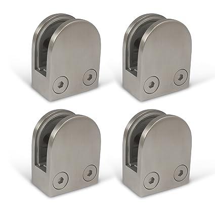 4 piezas. Kenley - Pinza de soporte para cristal, soporte de ...