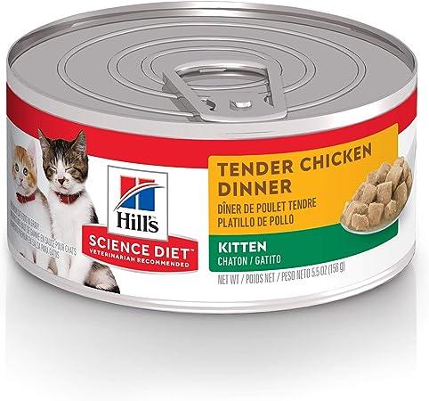 wet cat food science diet
