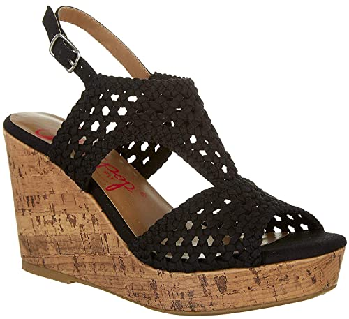 128ffc4289dcf Amazon.com | Jellypop Womens Alexia Wedge Sandals | Sandals