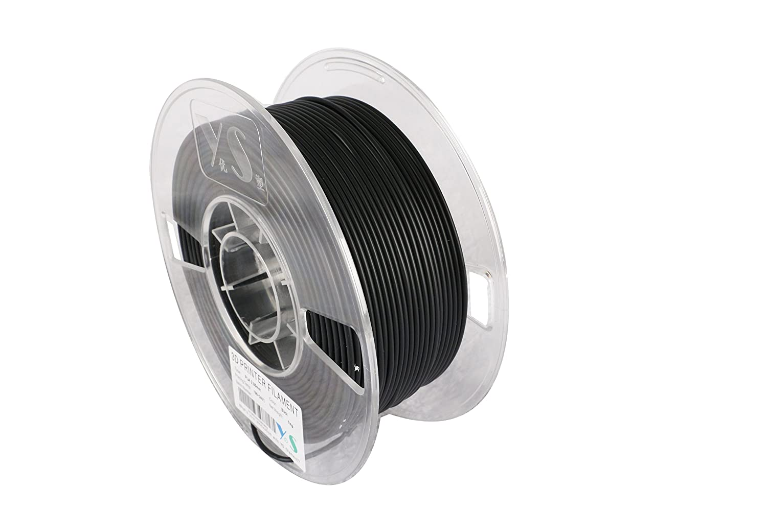 YS YS-PLA-BK-2.85-1.0  PLA Filament,  Compatible with Ultimaker/Airwolf/Luzbot 3D printer,  2.85 mm 1kg, Black Guangzhou Yousu Plastic Technology Co. Limited