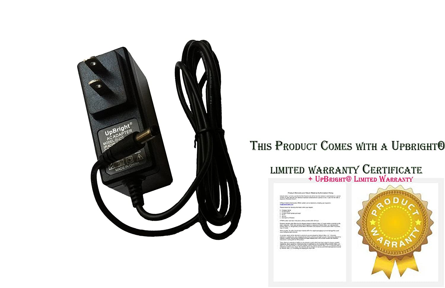 UpBright NEW AC/DC Adapter For Shark SV1106 N 40 10.8Vdc Bagless Navigator Freestyle Cordless Stick Vac Household Vacuum Cleaner Power Supply Cord Battery Charger with Barrel Round Plug Tip