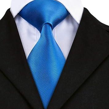 AK Hombres S Tie Sn-850 Moda Solid Tie Hanky Gemelos Conjuntos ...