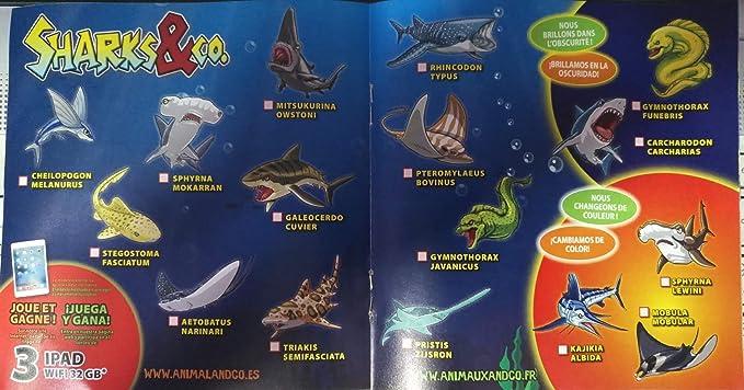 SHARKS and CO Maxi Eticion 2018 Sobres Coleccionables Tiburones Edición Nueva: Amazon.es: Juguetes y juegos