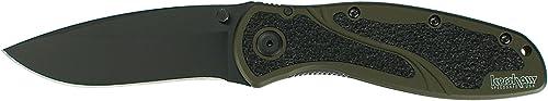Kershaw Blur Olive Black Hunting Knife