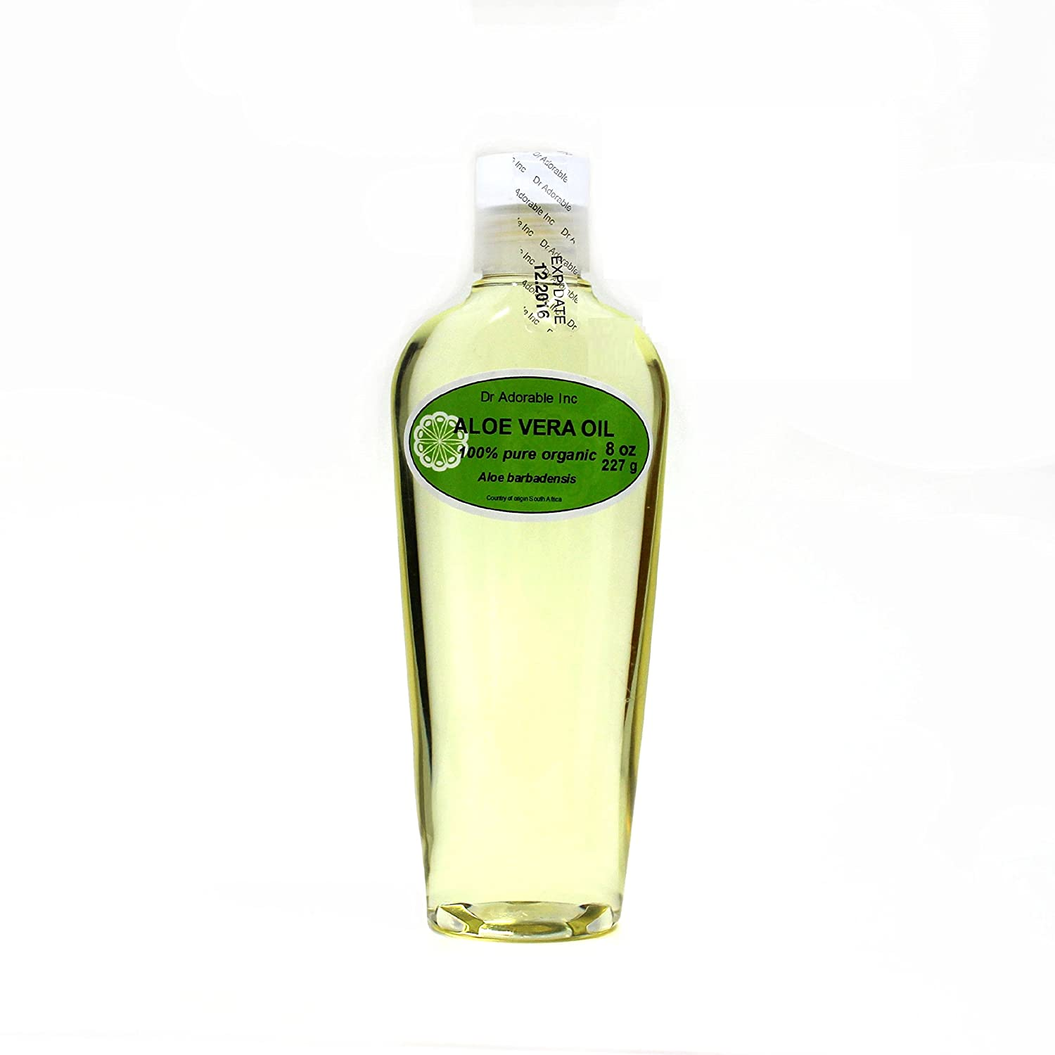 Organic Pure Carrier Oils Cold Pressed 8 oz Aloe Vera Oil