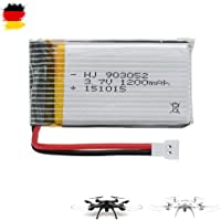 HSP Himoto 1200mAh 3.7V Power original Upgrade-Akku für Syma X5SC, X5SW Quadcopter
